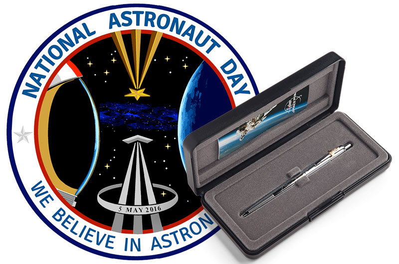 National Astronaut Day Launches with New 'Signature' Space Pens