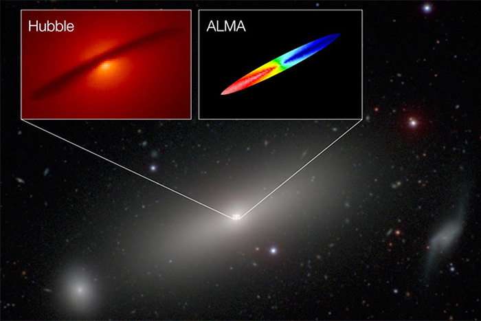 ALMA 'Weighs' Monster Black Hole to Highest Precision