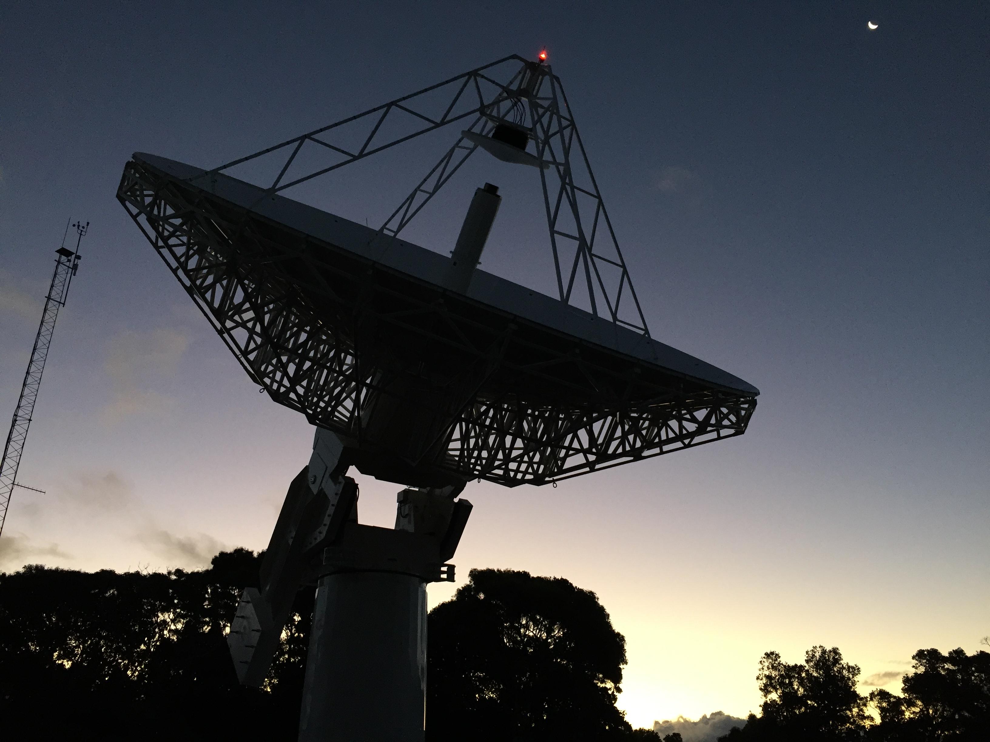VGOS Station at the Kōke'e Park Geophysical Observatory