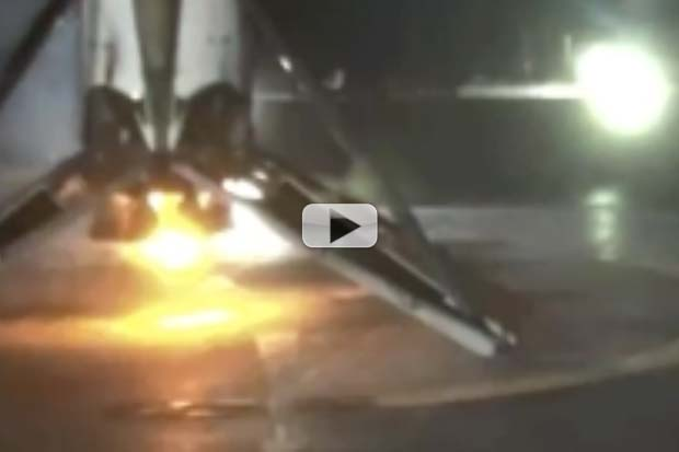 SpaceX Lands Again! First Stage On Droneship Despite Extreme Velocities | Video