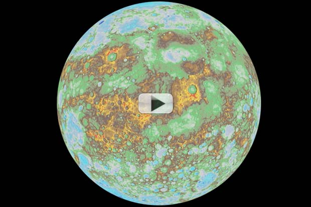 Mercury's Global Topography Model Revealed In New Animation