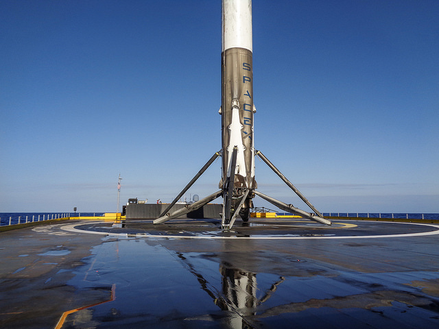 Wow! SpaceX Nails Rocket Landing At Sea Again