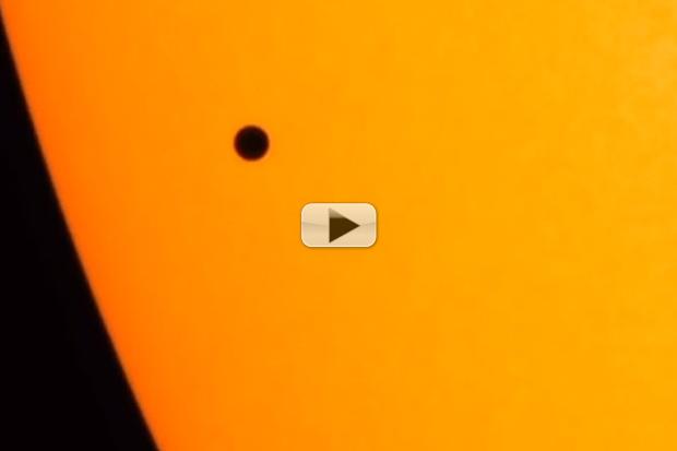 Mercury Transit 2016 -  Spacecraft View In Different Wavelength | Video