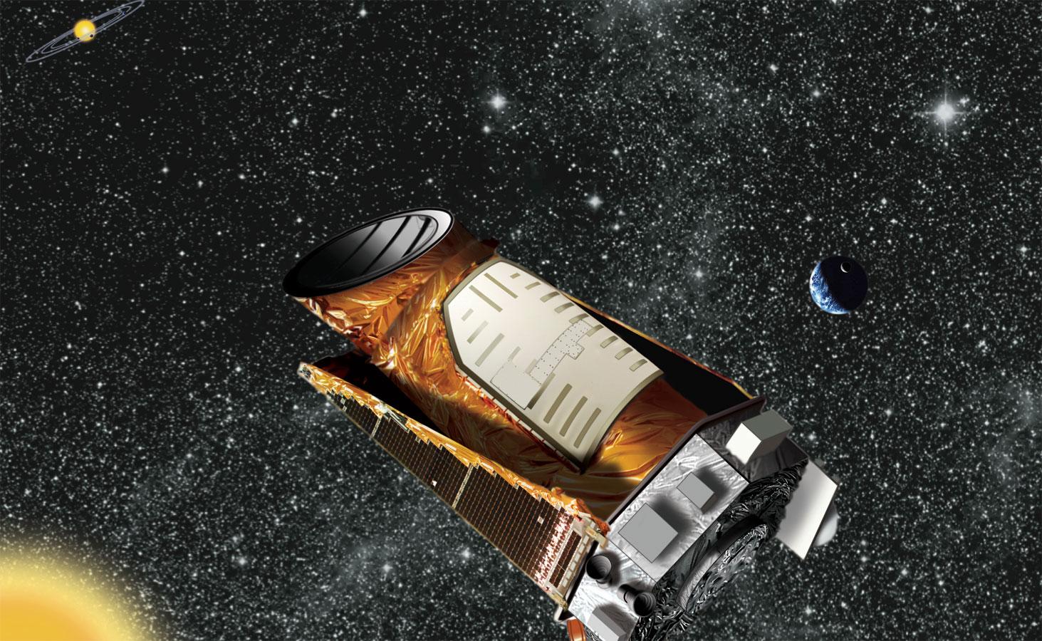 Kepler Space Telescope: Artist's Concept