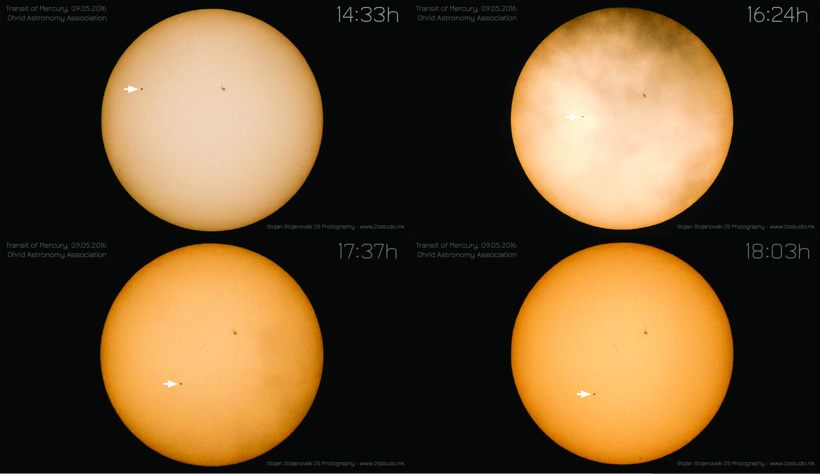 2016 Mercury Transit from Macedonia