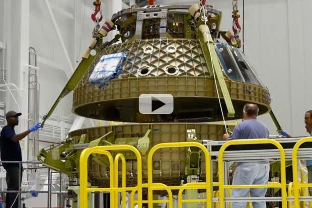 Boeing 'Starliner' Test Article Literally Coming Together | Video