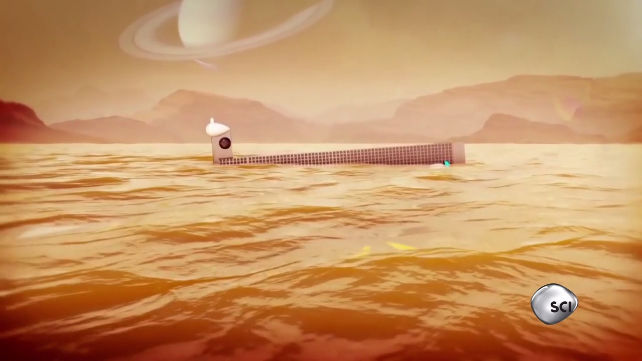 'Space's Deepest Secrets': Could a Sub Explore the Seas of Saturn Moon Titan? (Exclusive Clip)