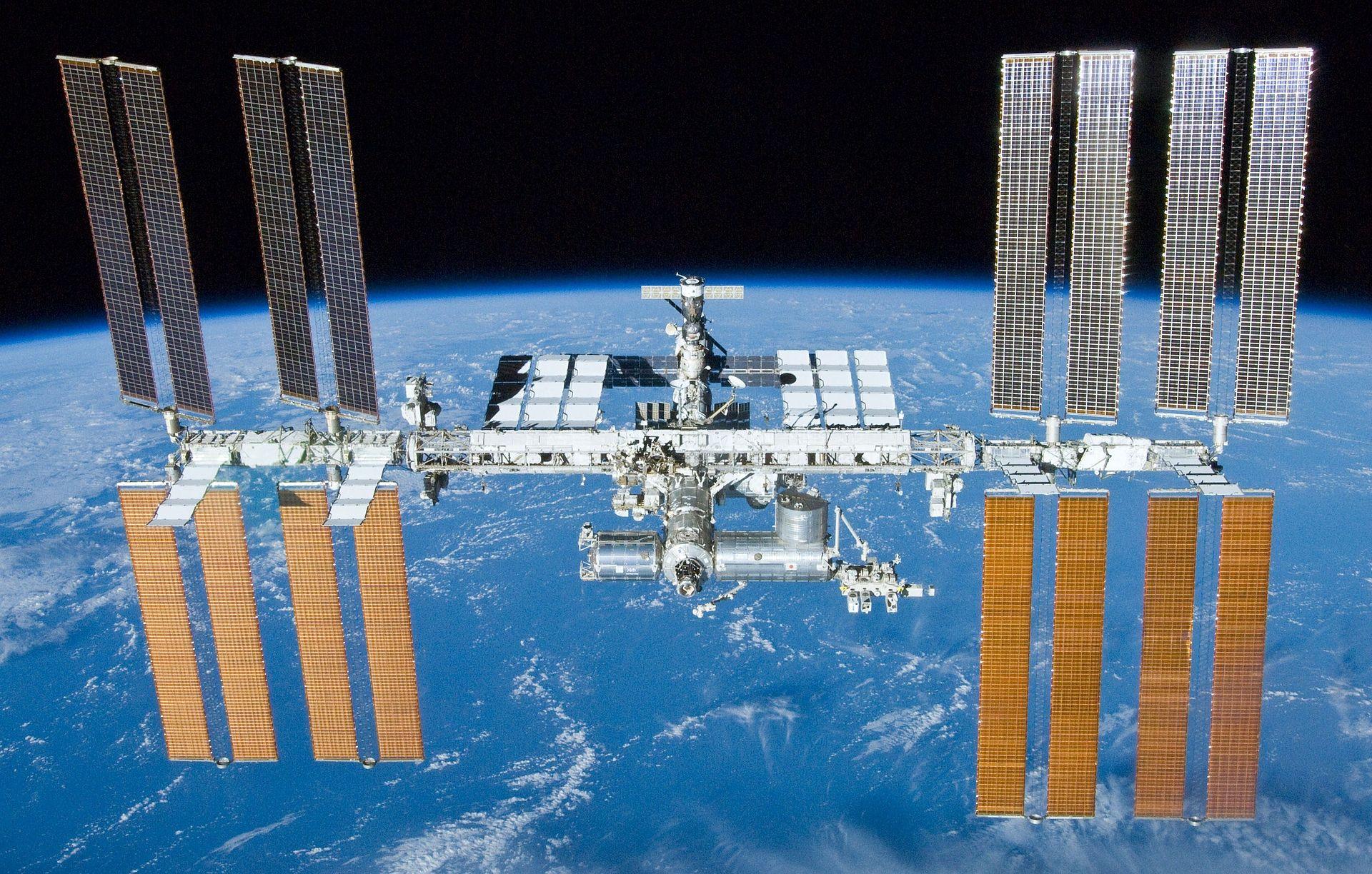 International Space Station, As Seen by Shuttle Atlantis