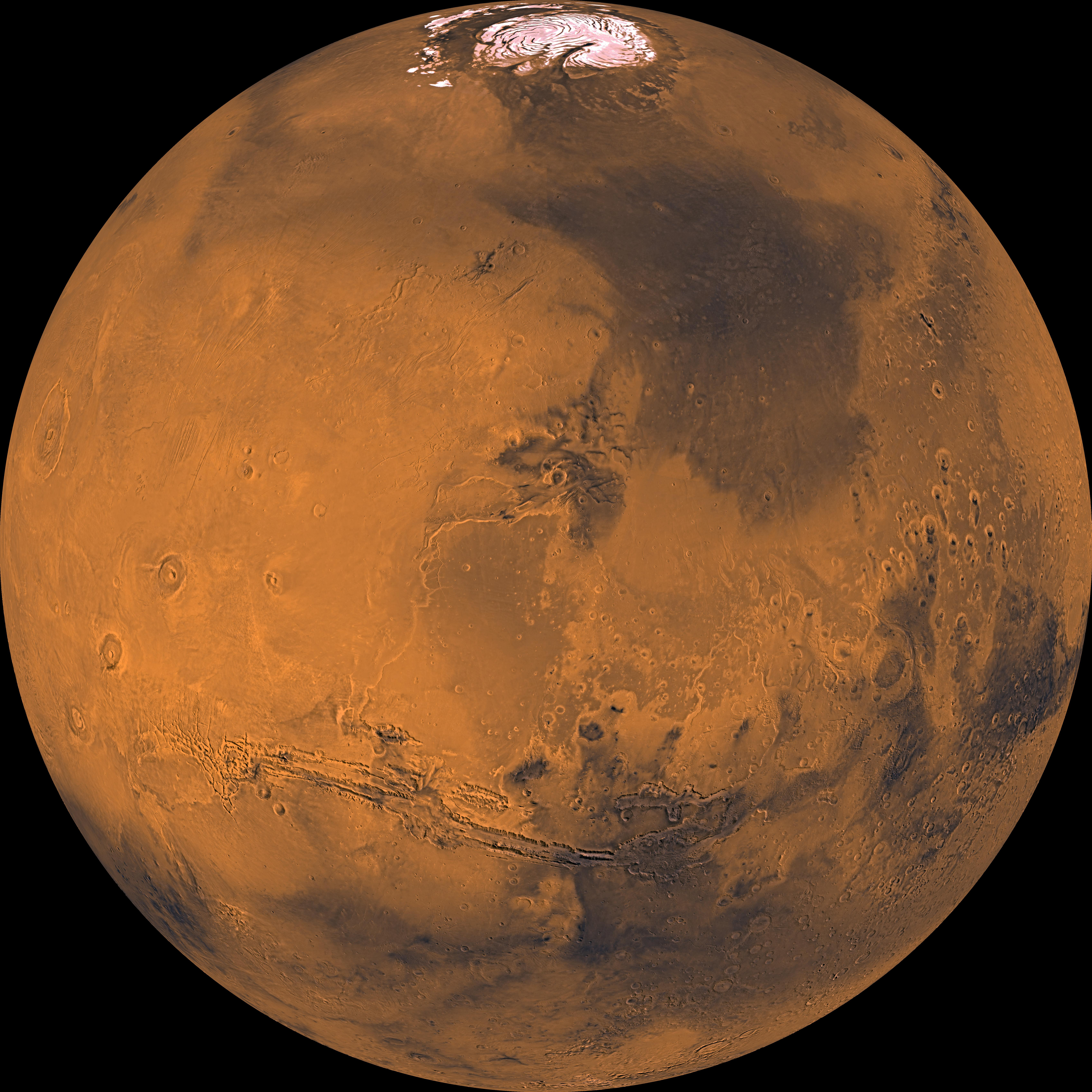 Viking 1 View of Mars