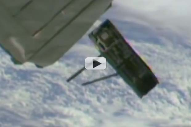 Elementary School Built Cubesat Launched From Space Station | Video