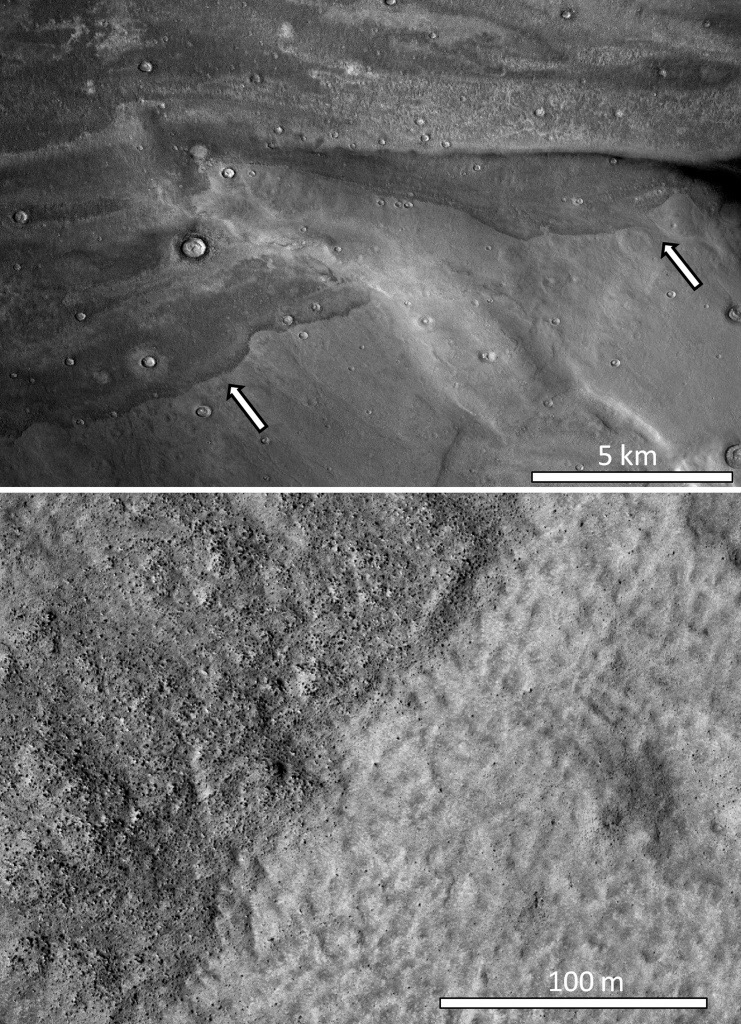 Mars Tsunami Evidence