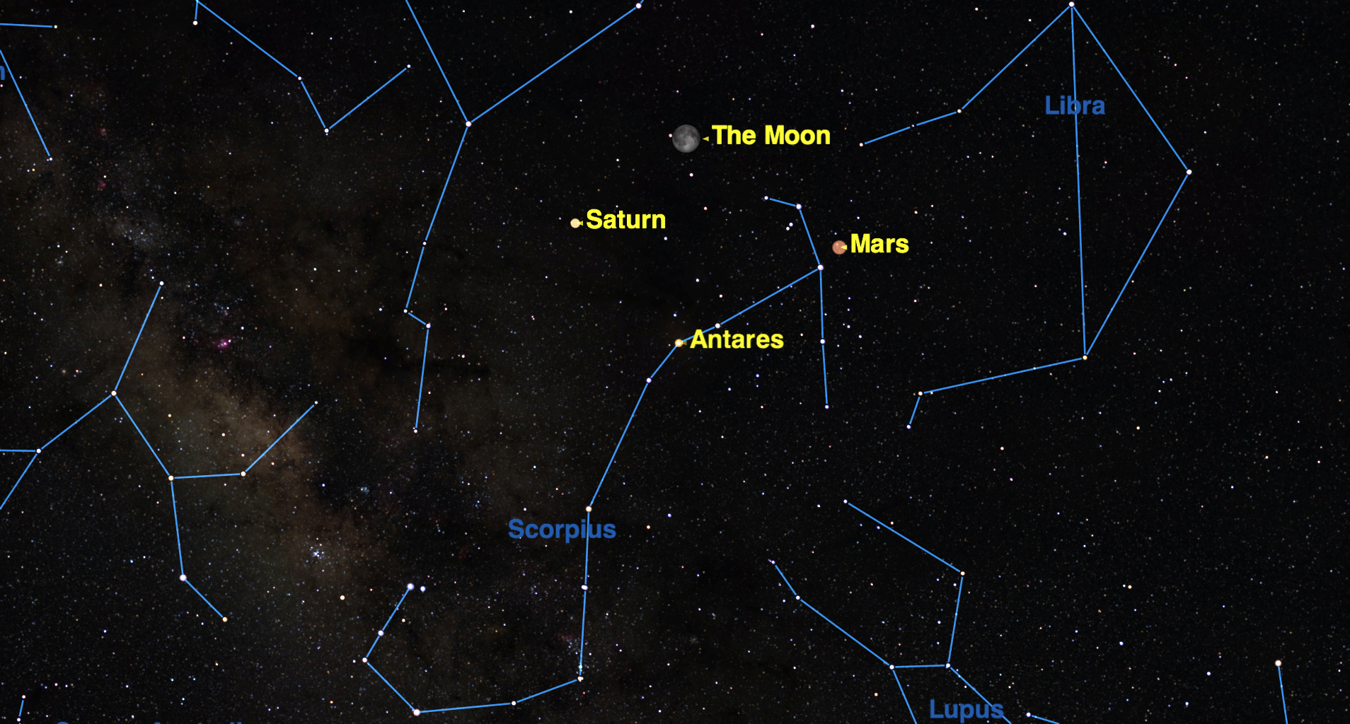 On Sunday morning (May 22) at 7 a.m. EDT, Mars reaches opposition with the sun.