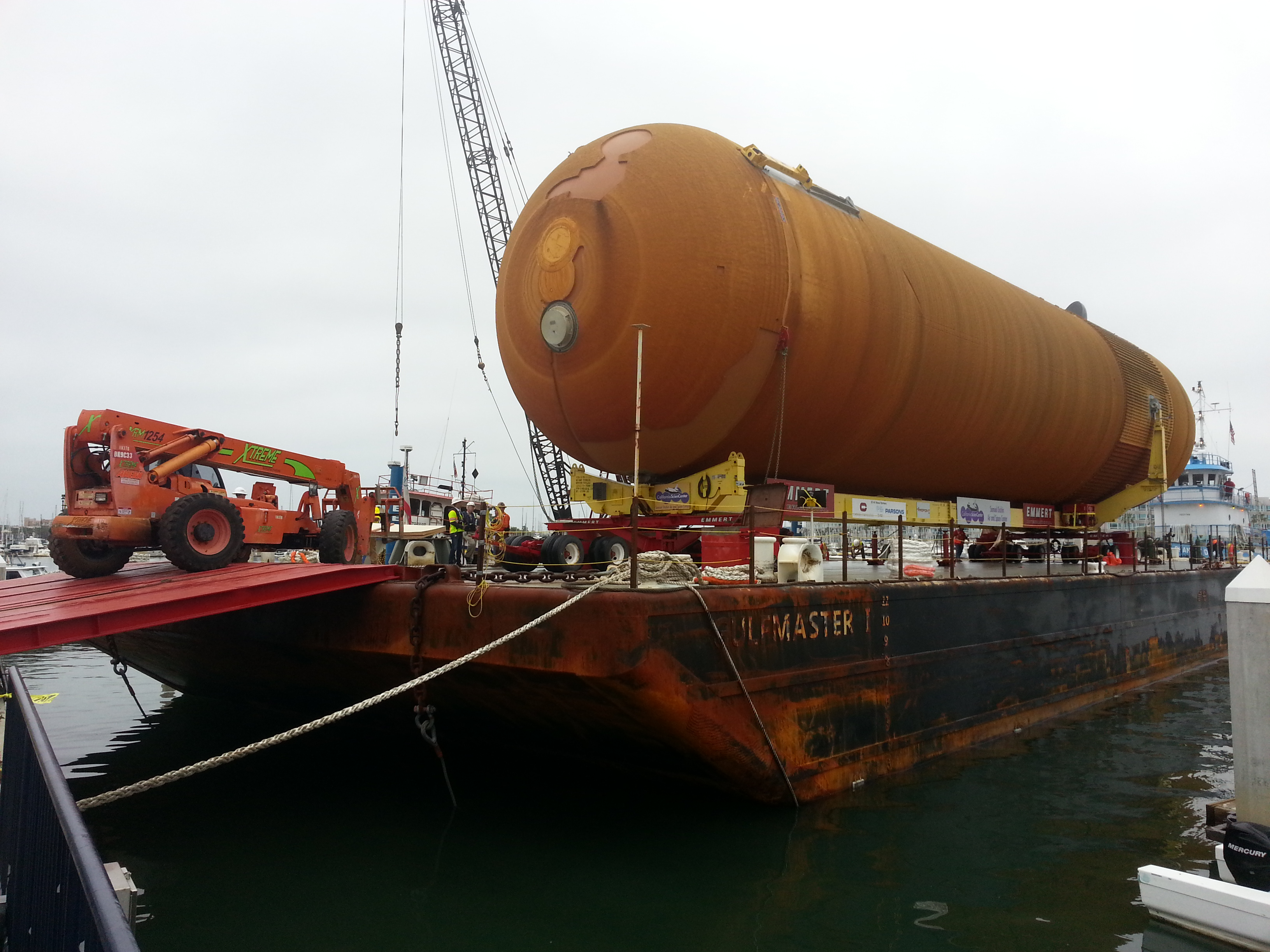 Space Shuttle Spectacle: Watching a Huge Fuel Tank Come Ashore