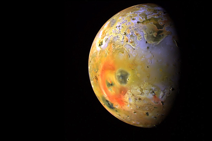Jupiter's moon Io mysterious