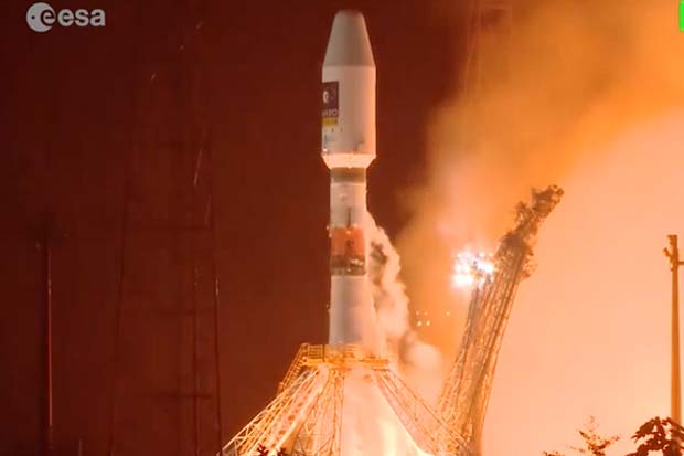 Blast Off! Europe's Galileo Navigation System Gets 2 More Satellites | Video