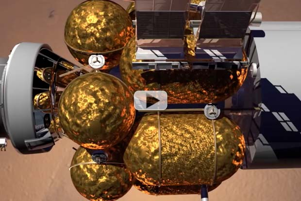 Humans In Mars Orbit By Late 2020s? - Lockheed Martin Concept Video