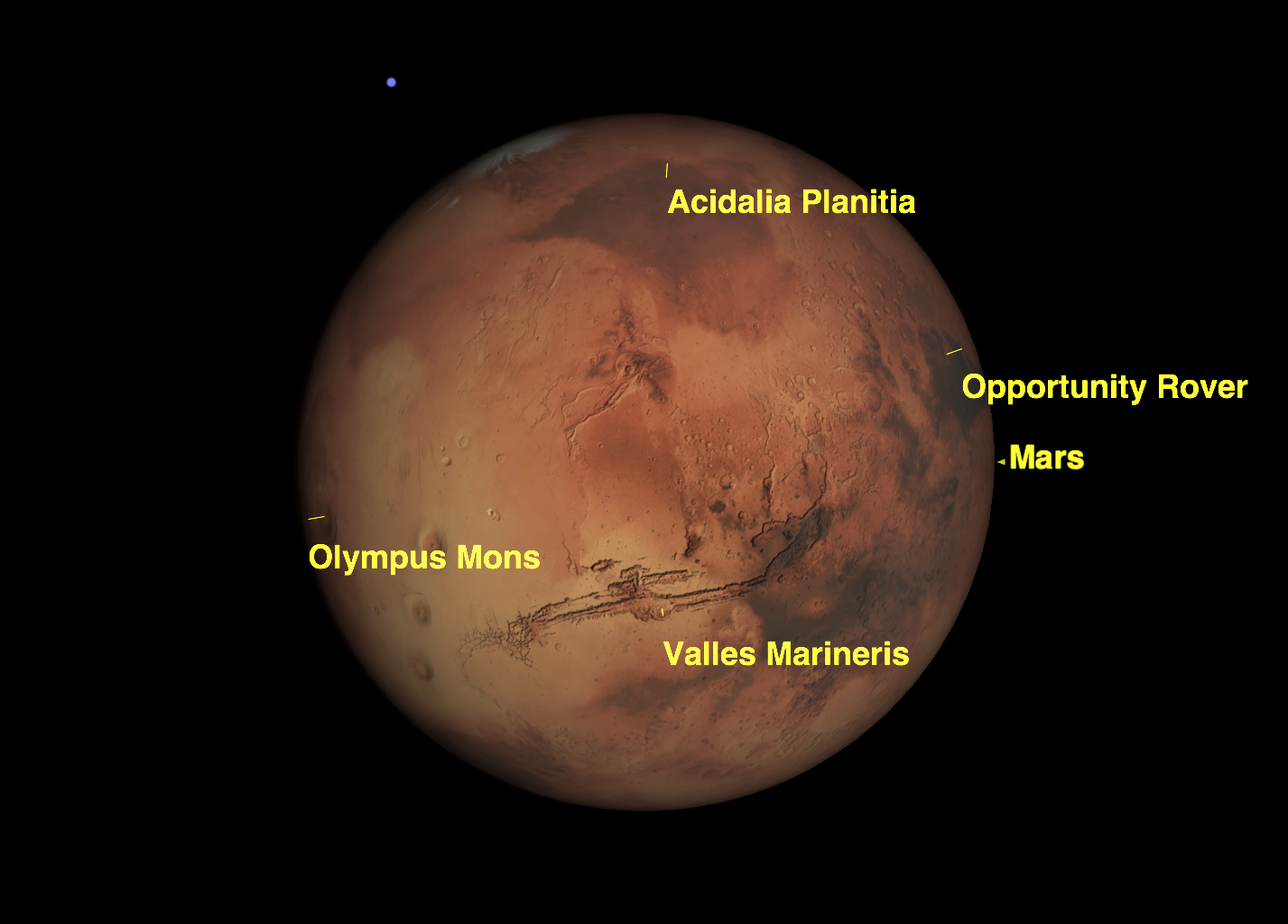 Mars Makes Closest Approach to