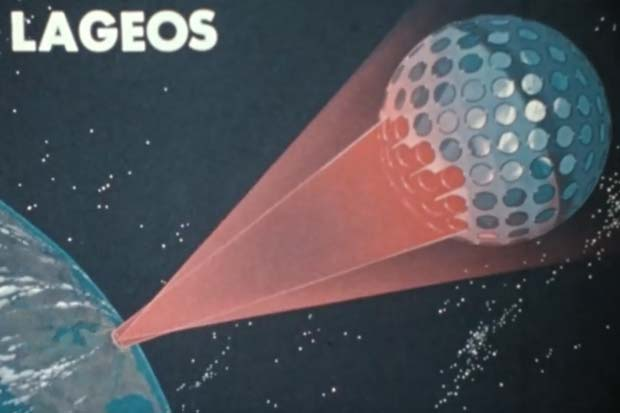 1970's NASA Satellite Looked Like A Disco Ball |  Archive Video
