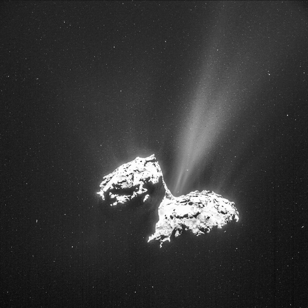 Building Blocks of Life Found in Comet's Atmosphere