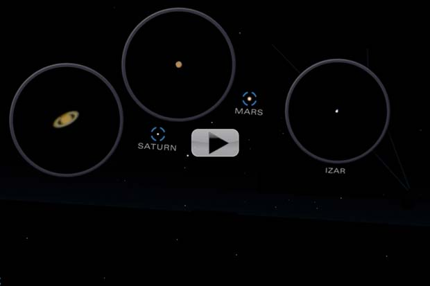 'Finest' Double Stars, Bright Cluster and Planets In June 2016 Skywatching | Video