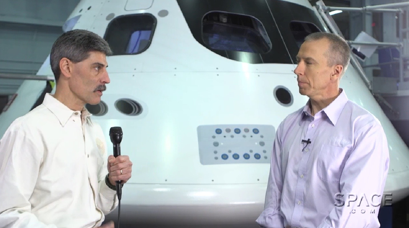 Dave Brody, Astronaut Drew Feustel Discuss Orion Capsule