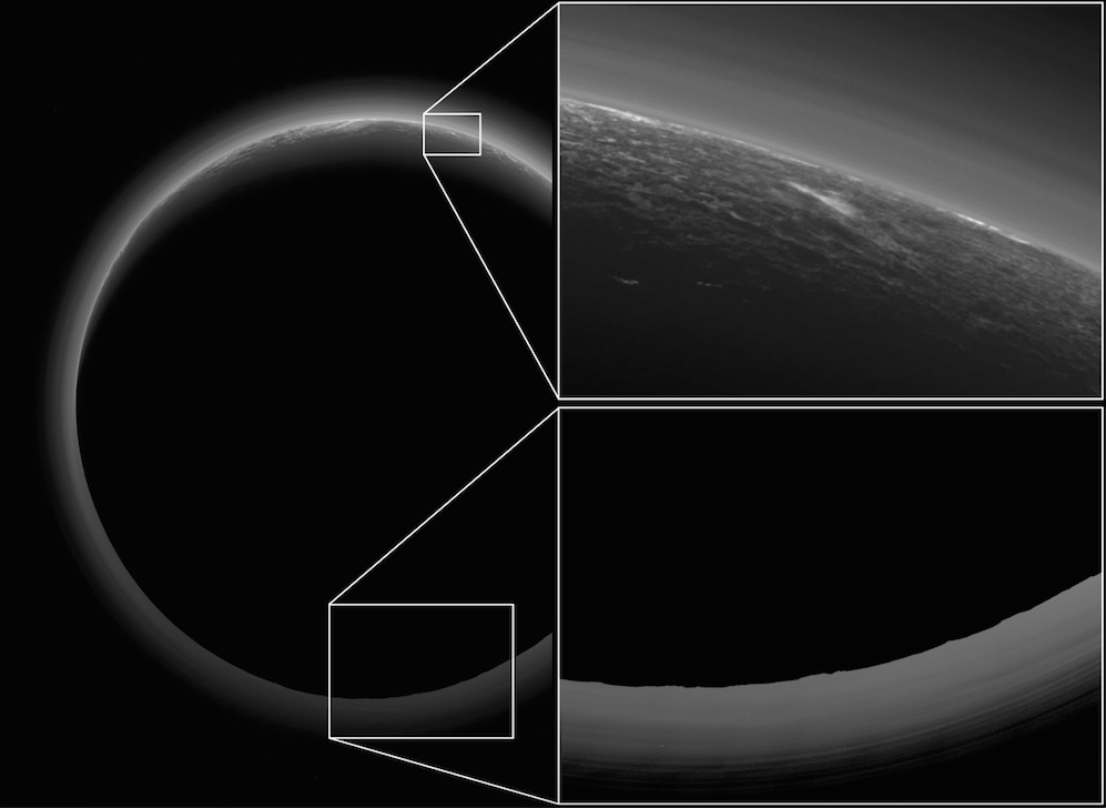 Pluto 'Twilight Zone' Photo Shows Possible Cloud
