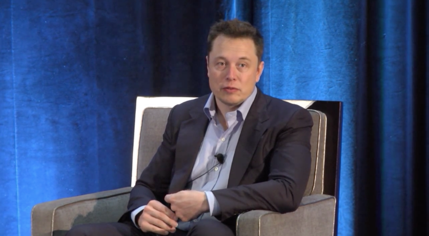 Elon Musk at CASIS 2015 conference
