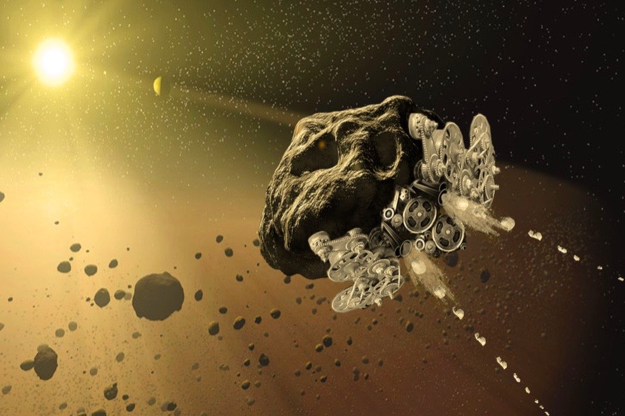Project RAMA: Turning Asteroids Into Spacecraft