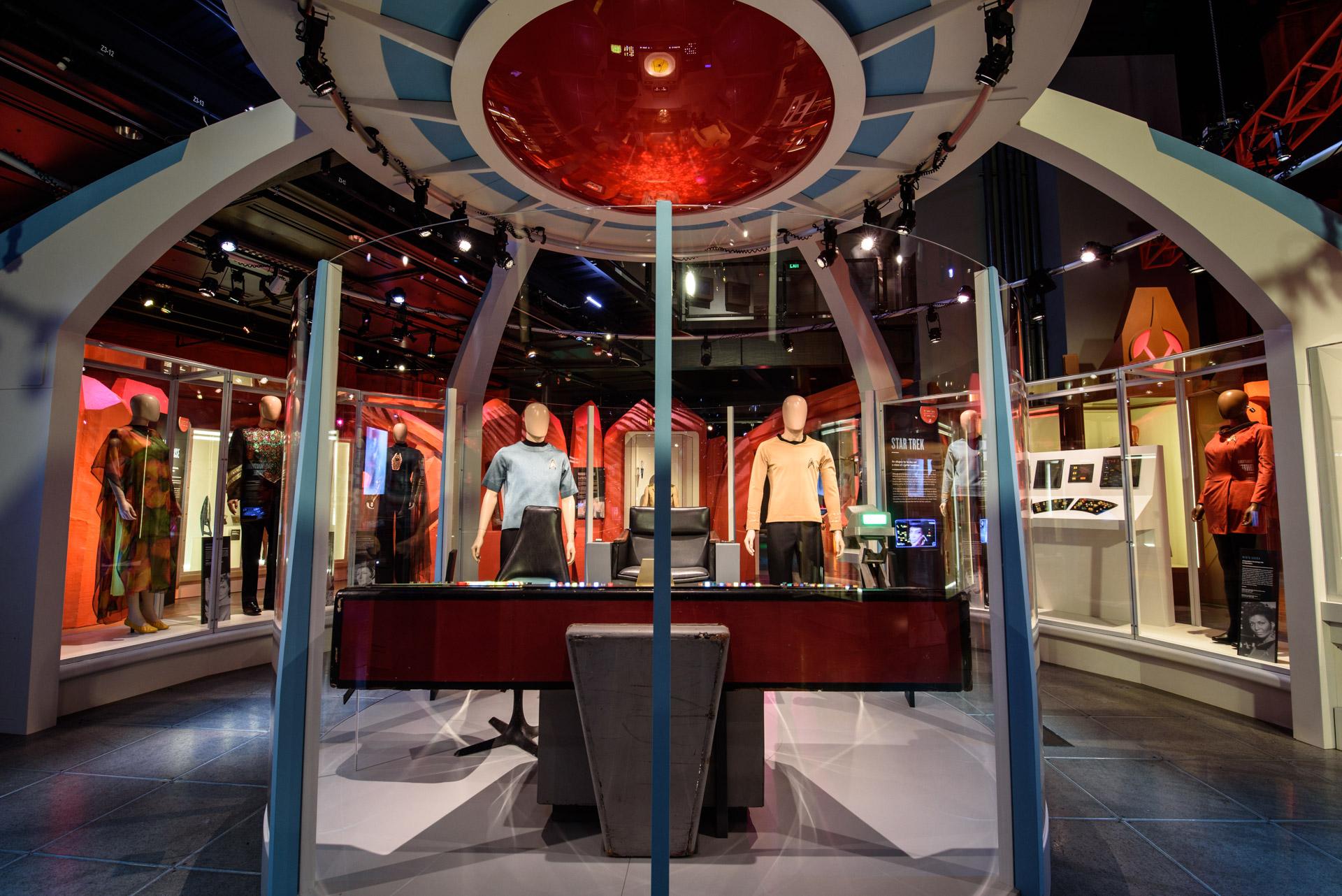 Photos: Warp Speed Through 'Star Trek's' 50 Years in Seattle Museum Exhibit