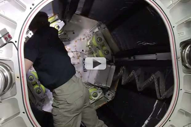 Bigelow Module Opened For First Time On Space Station | Video