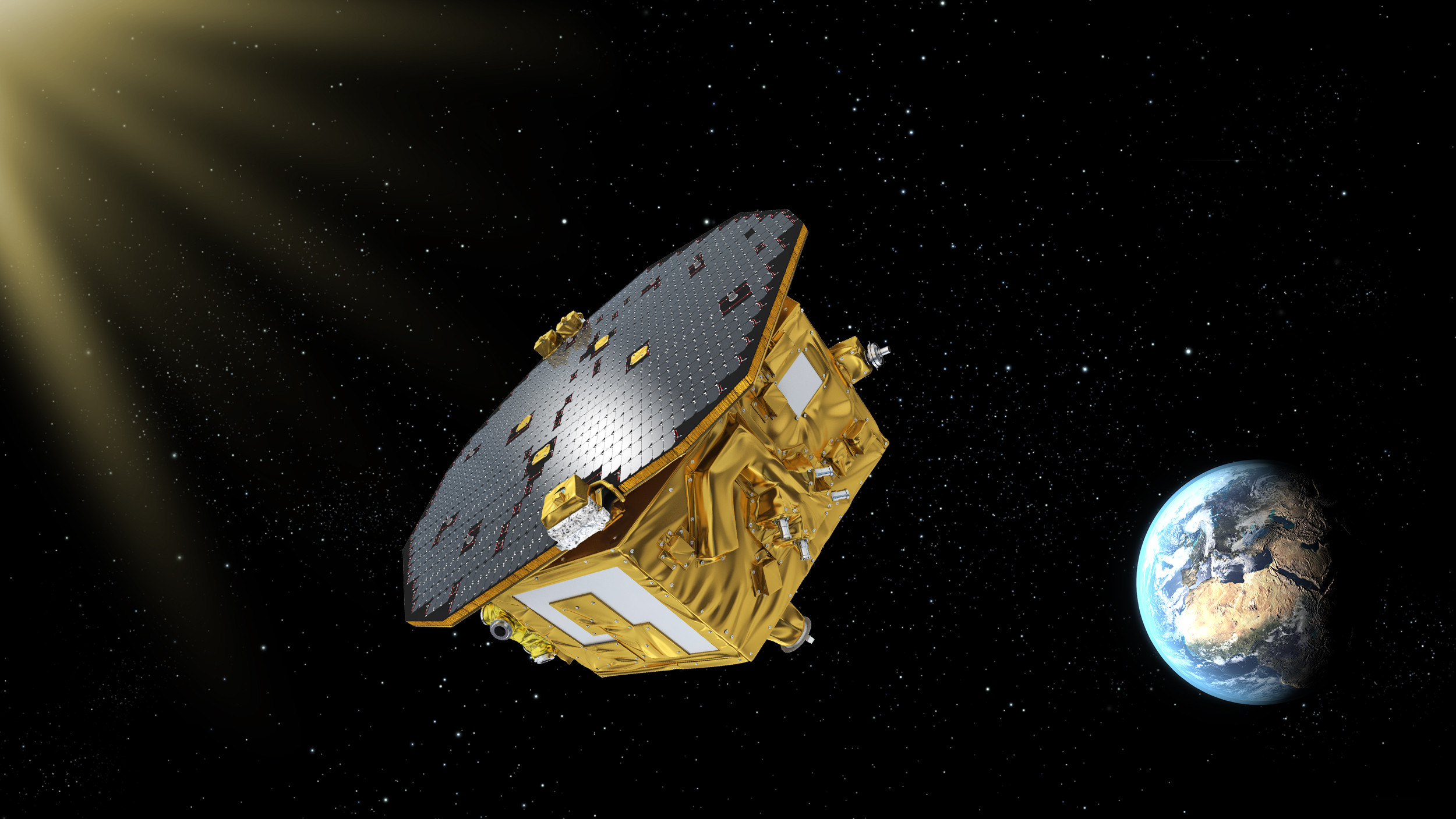 Near-Perfect Free Fall in Space Sets Stage for Gravitational Wave Hunt