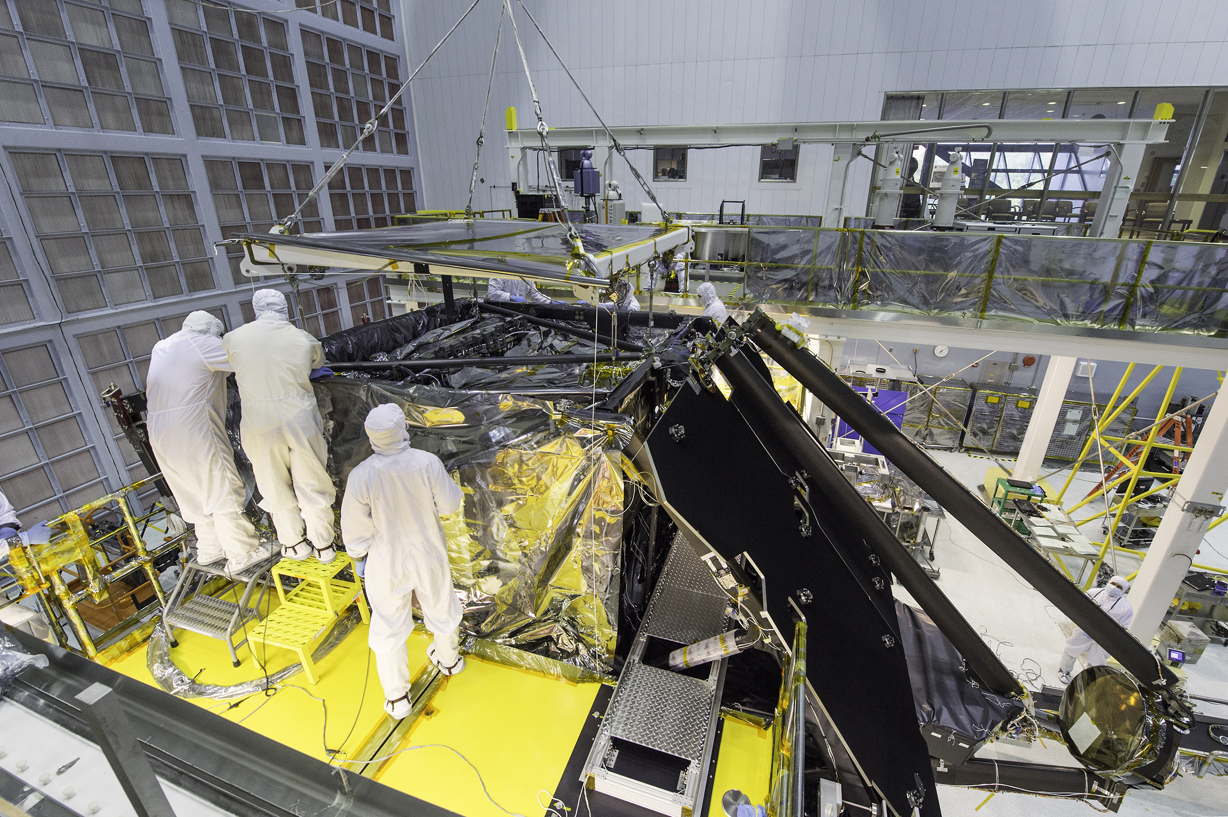 Science Gear Installed on NASA's Next Big Space Telescope