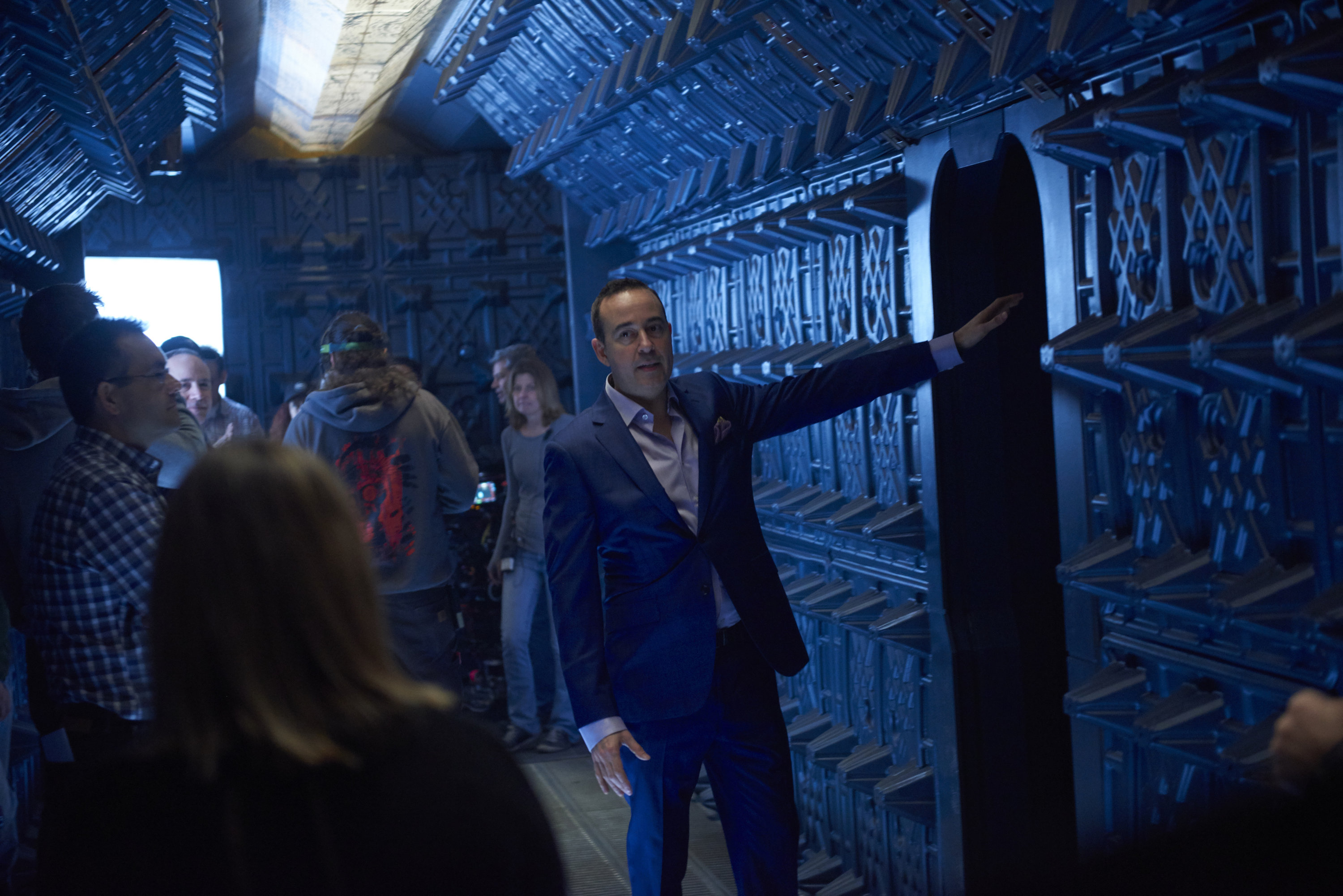 Inside Syfy's 'Dark Matter': Photos from Space.com's Out-Of-This-World Set Visit