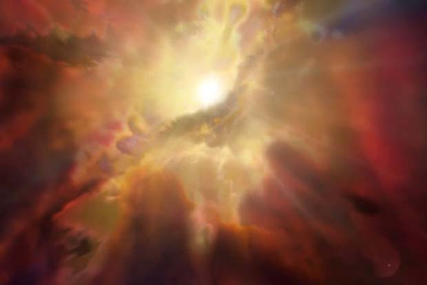 Intergalactic Clouds 'Raining' Into Supermassive Black Hole | Video