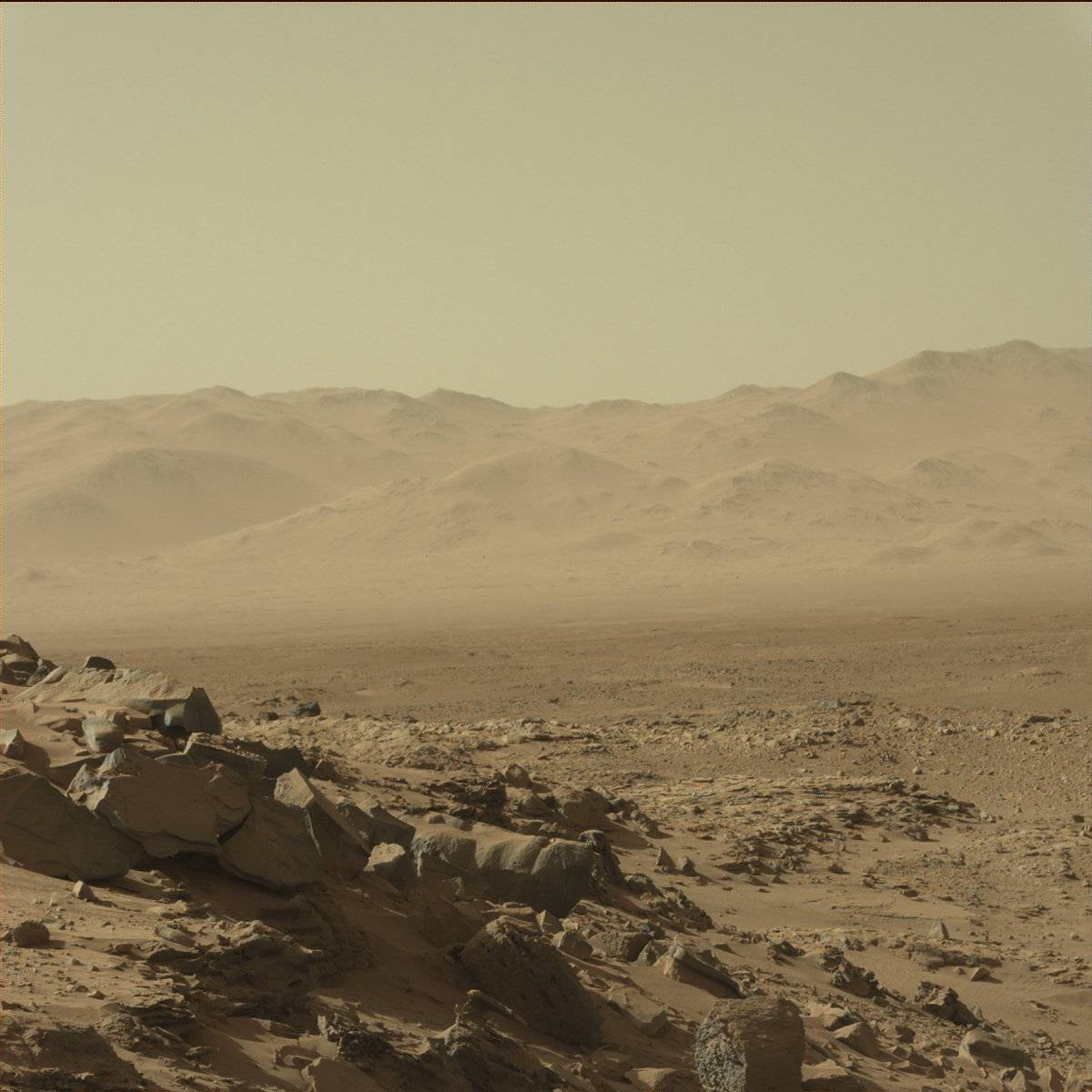 Mars by NASA's Curiosity Rover