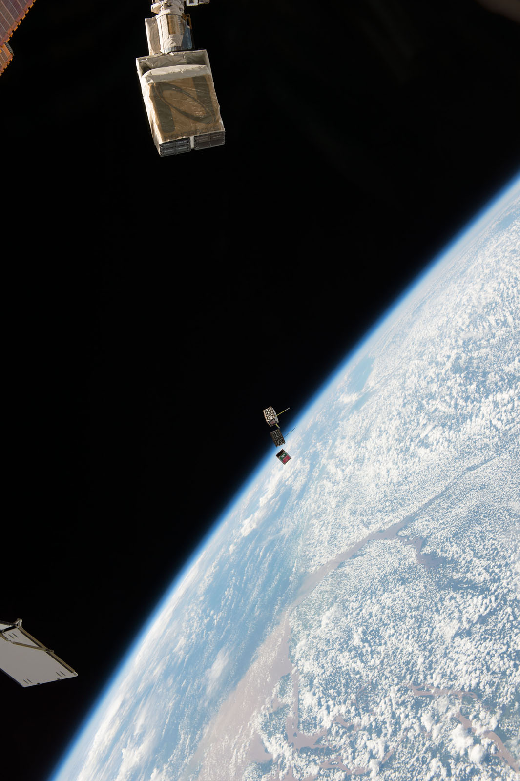 Cubesats, Away!