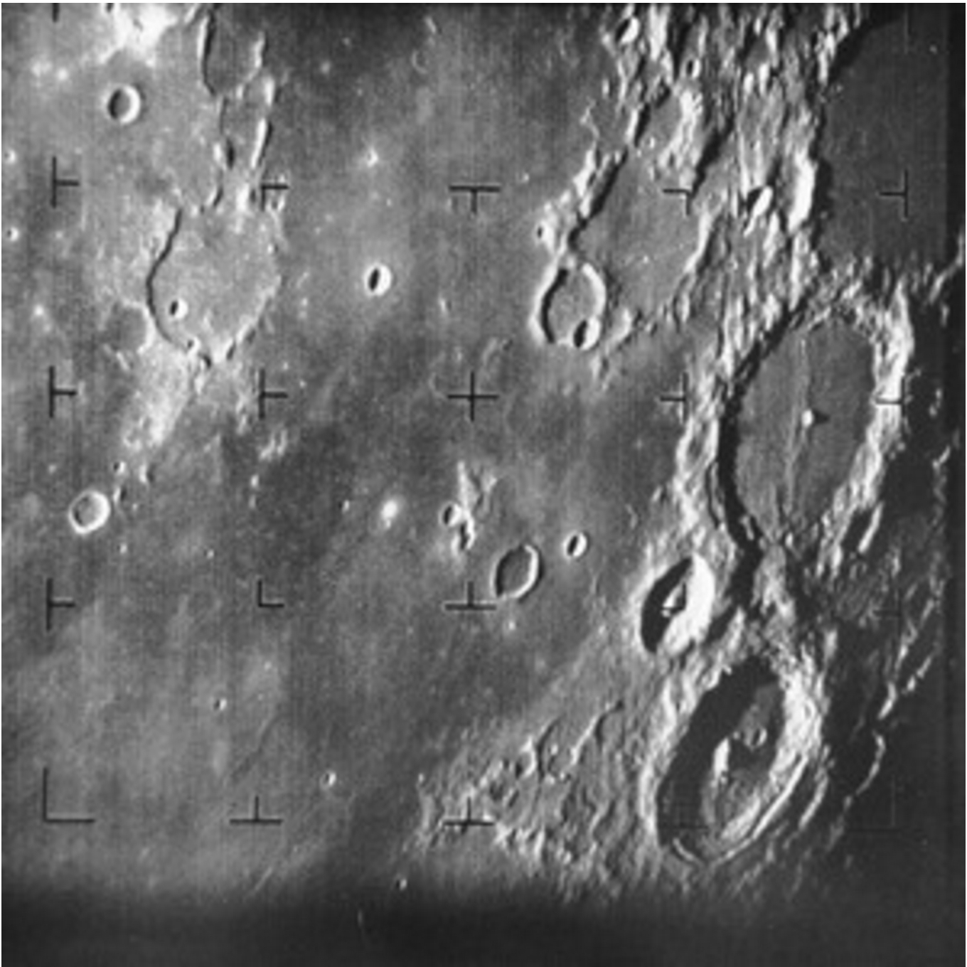 First image of moon by Ranger 7