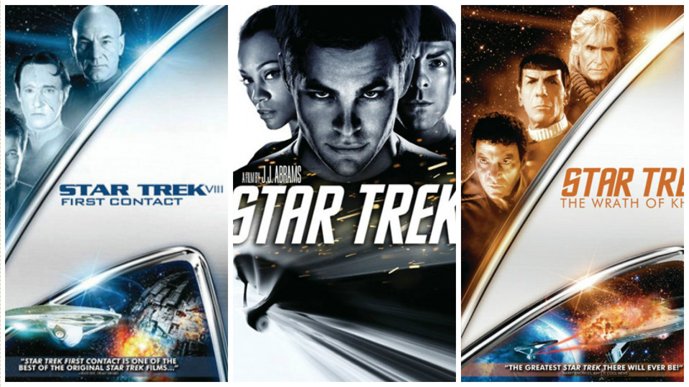 "The ""Star Trek"" universe spans multiple movie franchises."