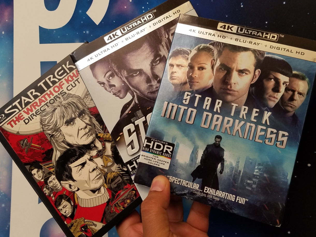 'Star Trek' Blockbusters Here in 4K Ultra-HD and Blu-Ray