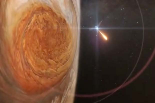 Juno Probe's 'Plunge' Into Jupiter Orbit Fraught With Danger | NASA Trailer