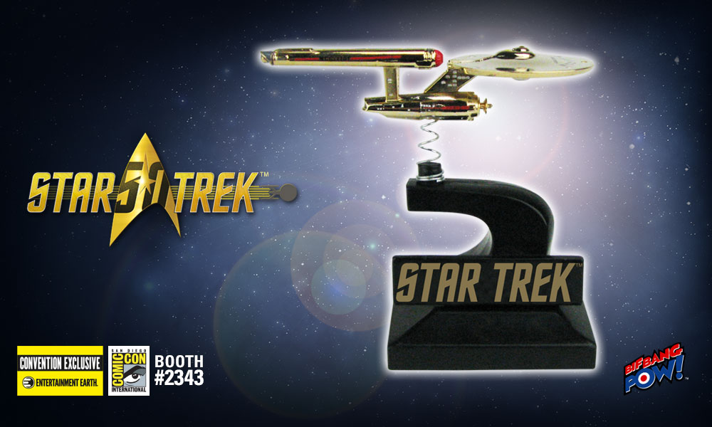 Gold-Plated USS Enterprise: A 'Star' Bobble at Comic-Con