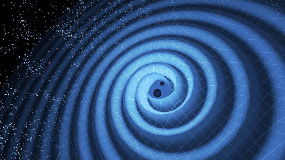 gravity waves from black holes collision