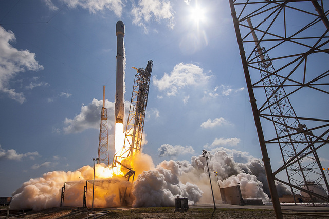 SpaceX Launches Satellites, Narrowly Misses Rocket Landing at Sea