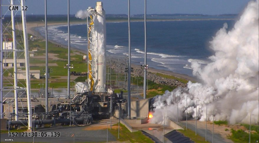Orbital ATK Antares launch