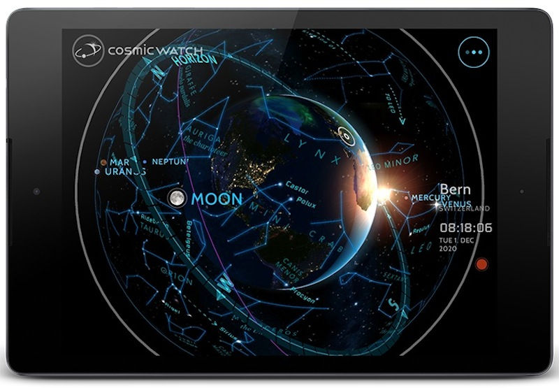 'Cosmic Watch' App Lets You Track Stars and Planets in Real Time
