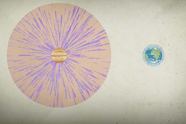 Venus' 'Force Monster' Electric Field Strips Water From Atmosphere | Video