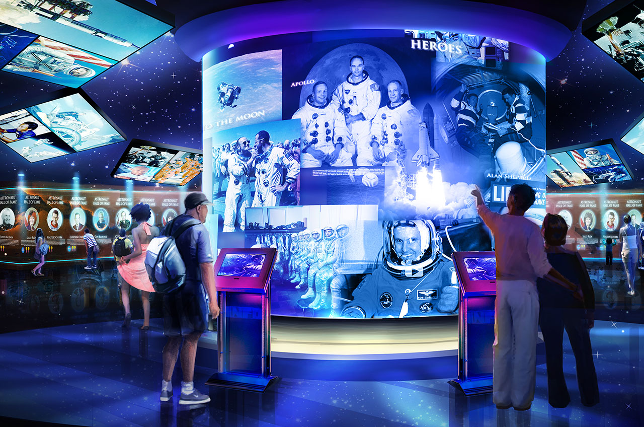 'Heroes & Legends' Astronaut Attraction to Include Videos Shared by Public