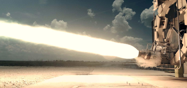 Firefly Rocket Engine Looks Luminous During Test (Photo)