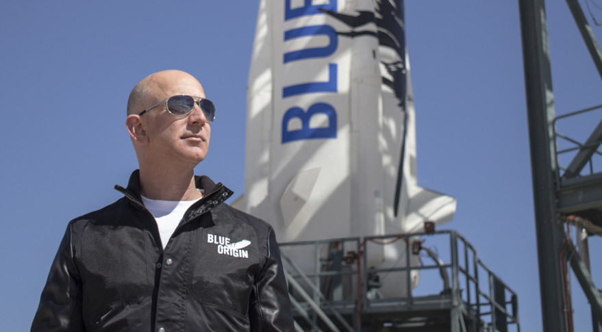 Jeff Bezos wins Heinlein Prize commercial space award