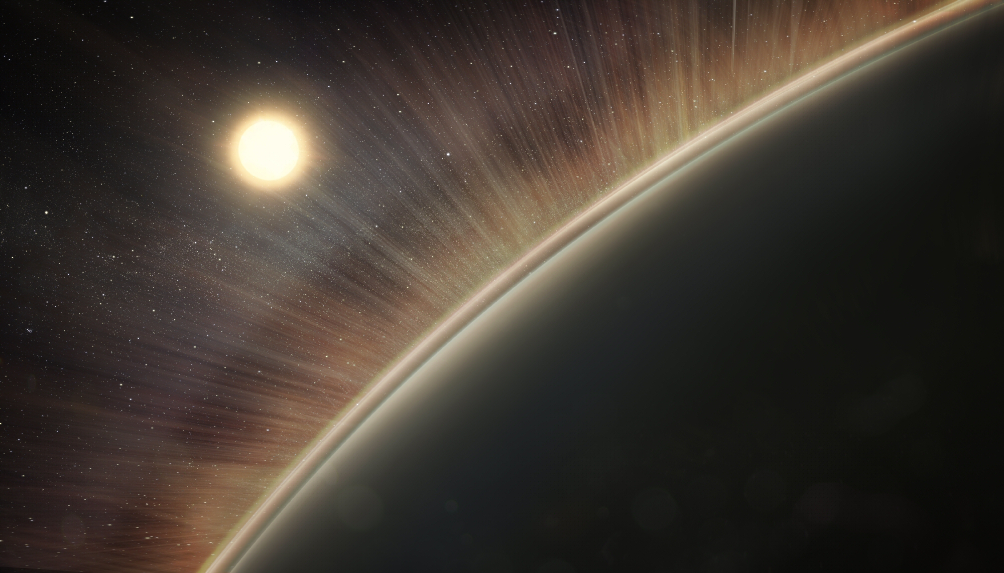 Powerful 'Electric Wind' Sucked Venus' Oxygen into Space
